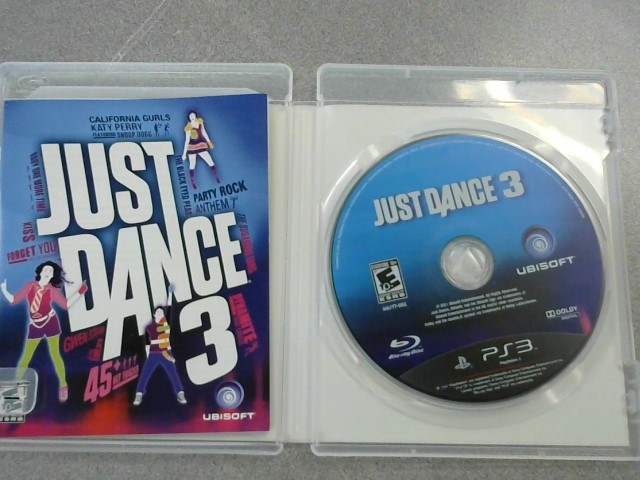 SONY Sony PlayStation 3 Game JUST DANCE 3