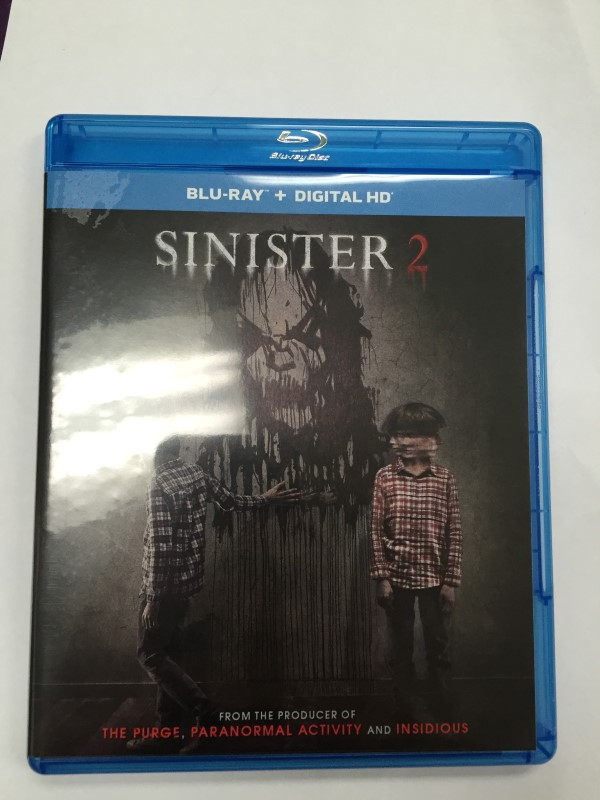 SINISTER 2 ACTION BLU-RAY MOVIE