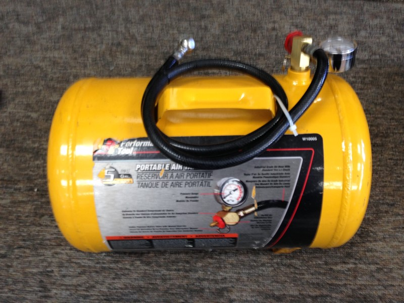 JEGS Performance Products W10005 Portable Air Tank 5 Gallon