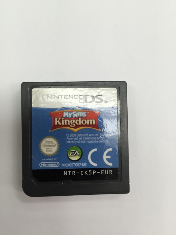 """NINTENDO DS """" MY SIMS, KINGDOM"""" GAME, GOOD CONDITION"""