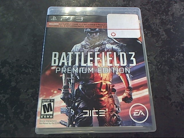 BATTLEFIELD 3 - PS3 GAME