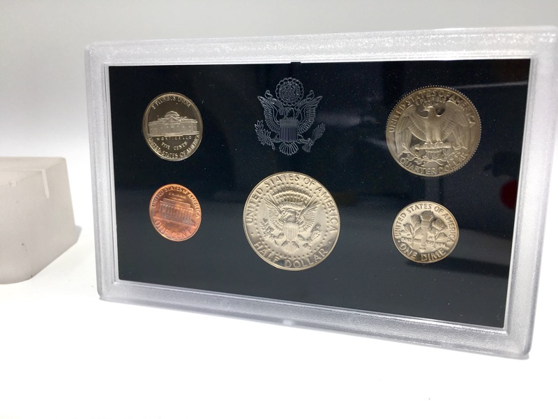 1983 S United States Proof Set - 5 Coins - In Mint Box