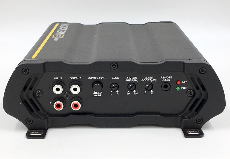 KICKER CX600.1 AMP CAR AUDIO 600W 12V ONE CHANNEL