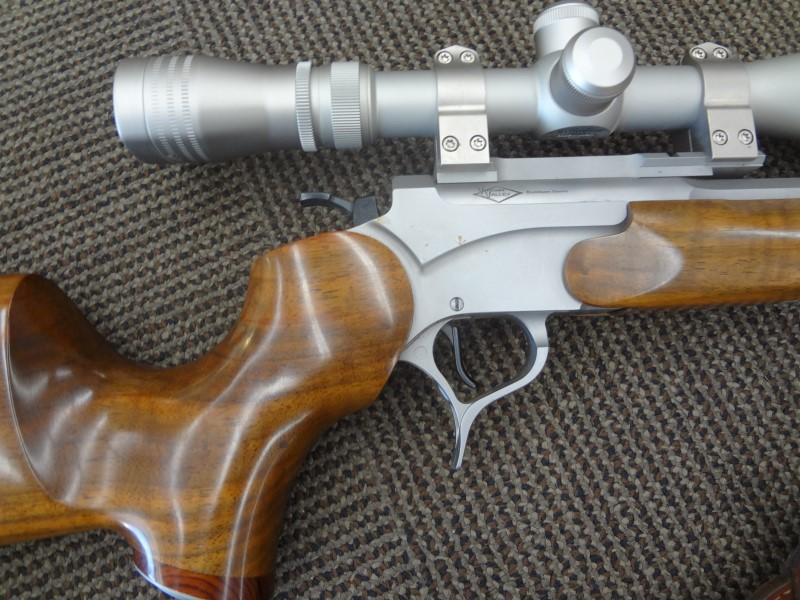 VIRGIN VALLEY ARMS RIFLE 6MMBR - THOMPSON CUSTOM - REDFIELD 6X20 SCOPE - 26""