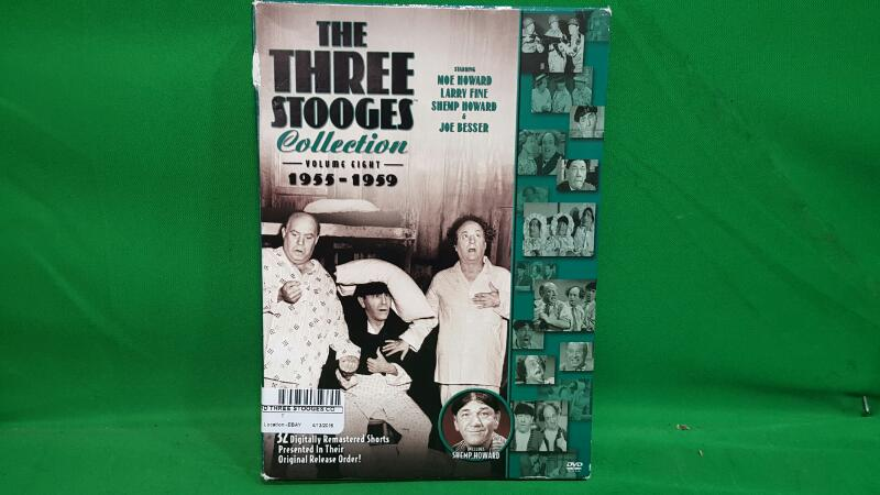 Three Stooges Collection:VOL 8 1955-1959 (DVD, 2010, 3-Disc Set)