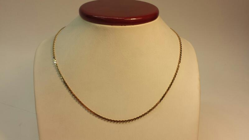 14k Yellow Gold Snake Chain 20""