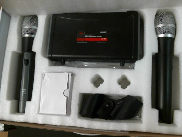 GALAXY AUDIO Microphone ANY SPOT ECDR