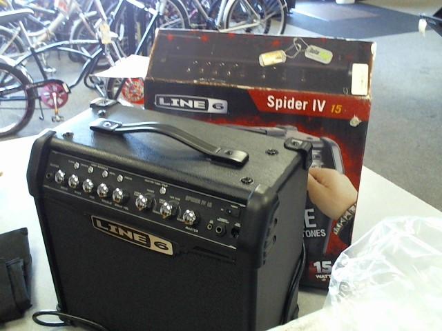 LINE 6 Electric Guitar Amp SPIDER IV 15