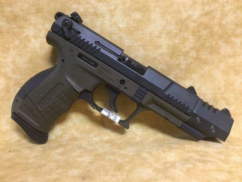 WALTHER ARMS Pistol P22 MILITARY TARGET