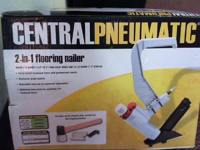 CENTRAL PNEUMATIC Nailer/Stapler 97586