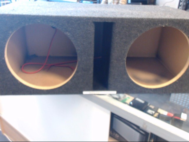 "Car Audio 12"" SUBWOOFER BOX"