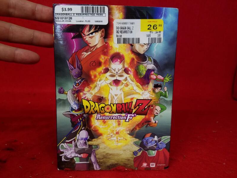 DragonBall Z: Resurrection 'F' (DVD, 2015) Dragon Ball