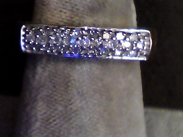 Lady's Diamond Fashion Ring 25 Diamonds .170 Carat T.W. 10K Yellow Gold 2.6dwt