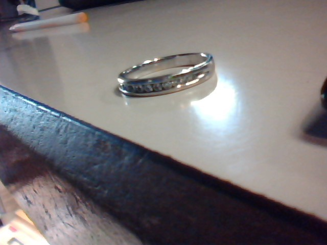 Lady's Diamond Wedding Band 11 Diamonds .33 Carat T.W. 14K White Gold 3.6g