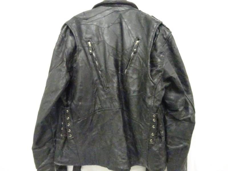 DIAMOND PLATE BUFFALO LEATHER Coat/Jacket JACKET