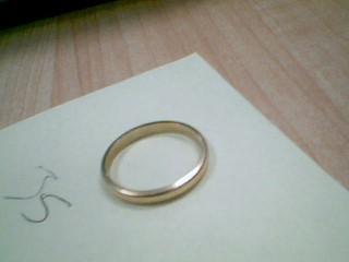 Lady's Gold Wedding Band 14K Yellow Gold 2.7g