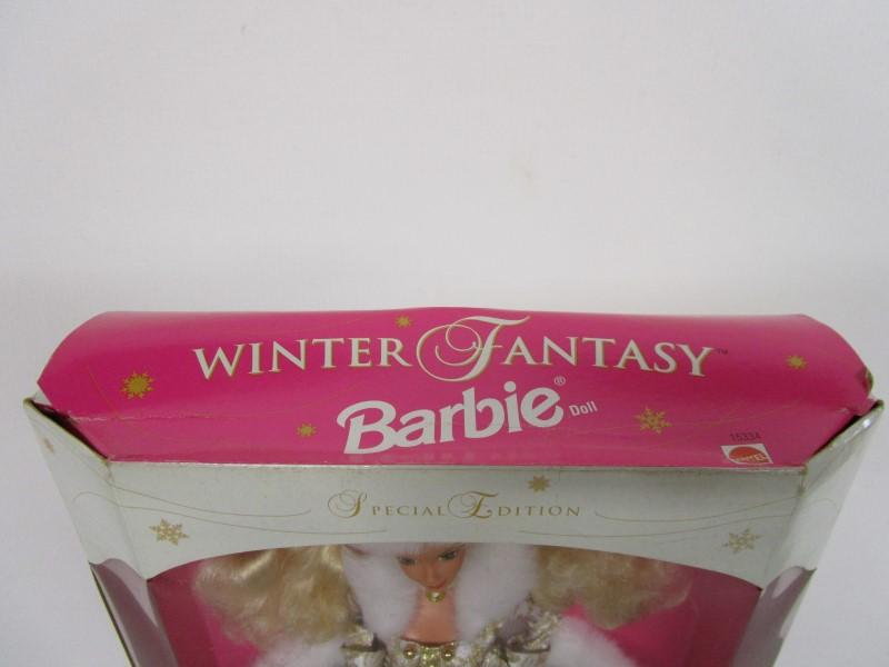 MATTEL 1995 WINTER FANTASY BARBIE