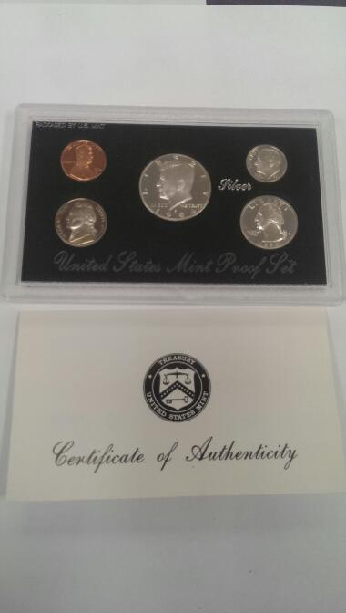 UNITED STATES 1994 SILVER PROOF SET