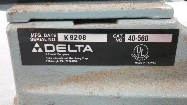"DELTA TOOLS Scroll Saw 16"" SCROLL SAW 40-530"