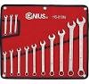 GENIUS DOUBLE ENDED OFFSET RING SAE WRENCH SET