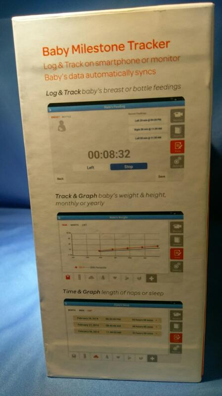 "AT&T SMART SYNC 5"" TOUCH SCREEN BABY MONITOR"