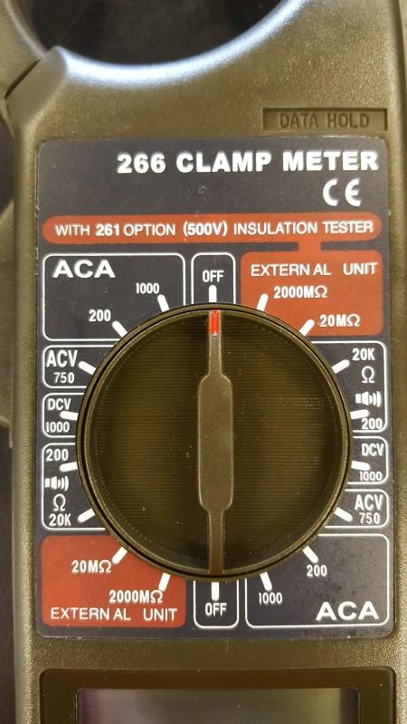 ACTRON Multimeter 266 CLAMP METER