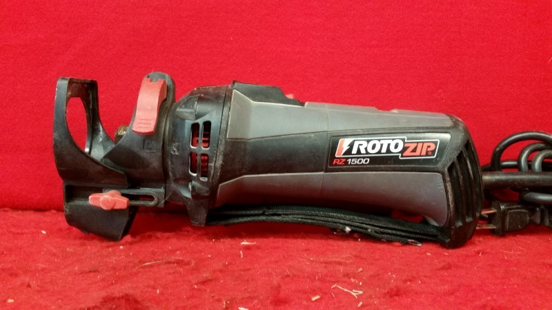 RotoZip RZ1500 120V 5.7 Amp Spiral Saw RotoSaw