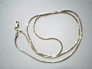 "18"" Gold Snake Chain 14K Yellow Gold 4.9g"