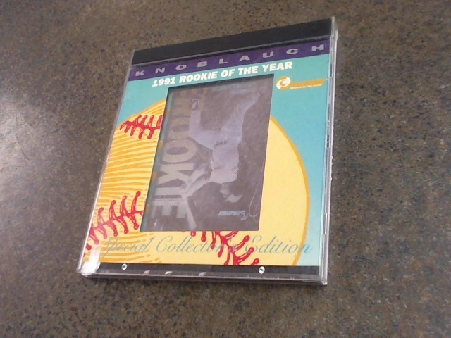 KNOBLAUCH 1991 ROOKIE OF THE YEAR COLLECTOR'S EDITION