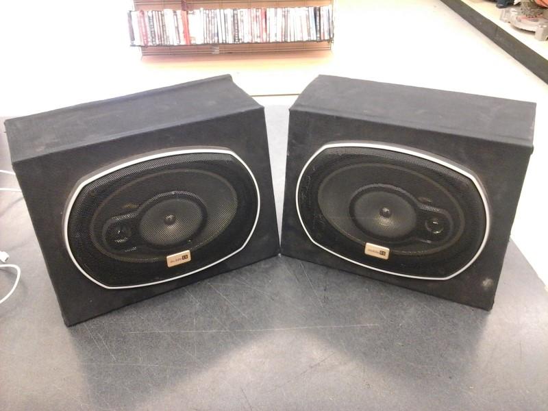SONY Car Speakers/Speaker System MOBILE ES 6X9 SPEAKERS