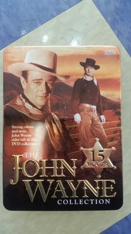 The John Wayne Collection 15 Disc Set (DVD) in Collectible Tin
