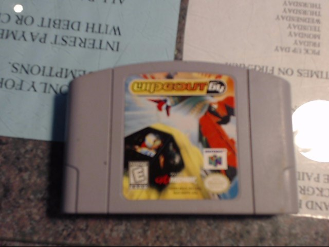 NINTENDO Nintendo 64 Game WIPEOUT 64