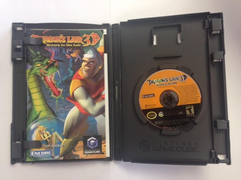 Nintendo Gamecube Dragon's Lair 3D: Return to the Lair