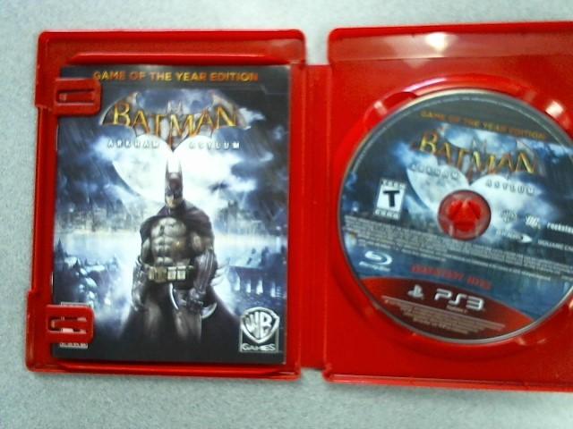 SONY Sony PlayStation 3 Game BATMAN ARKHAM ASYLUM
