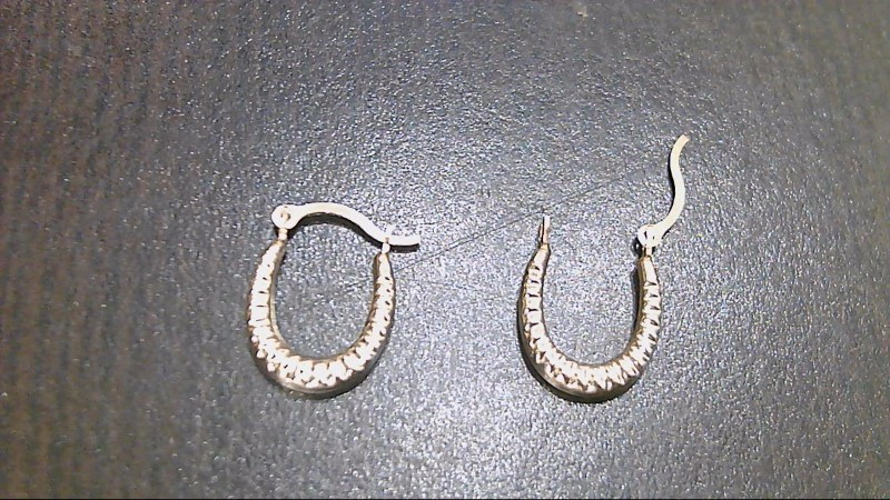 Gold Hoop Earrings 14K Yellow Gold 0.3g