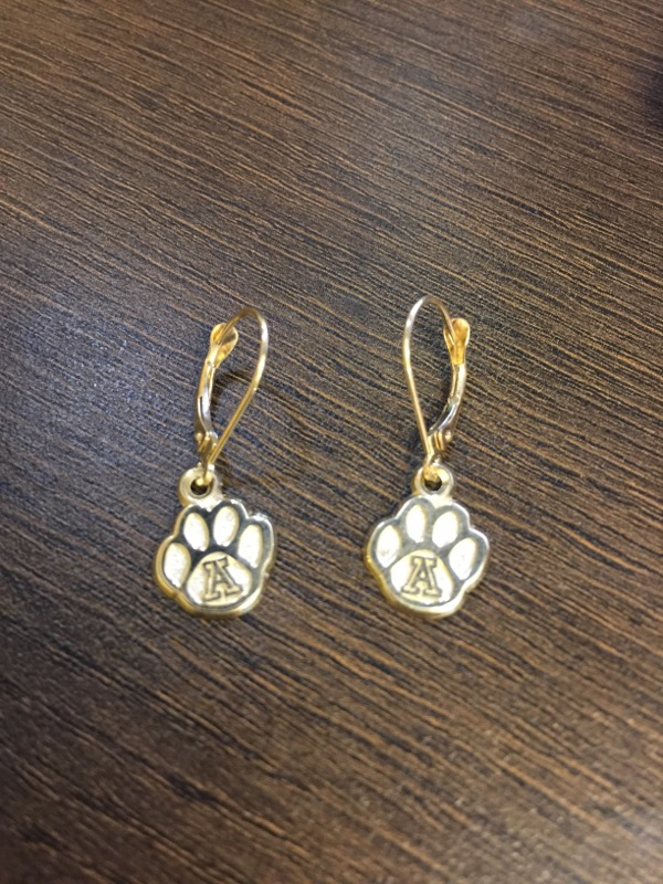 Gold Earrings 10K Yellow Gold 1.8g