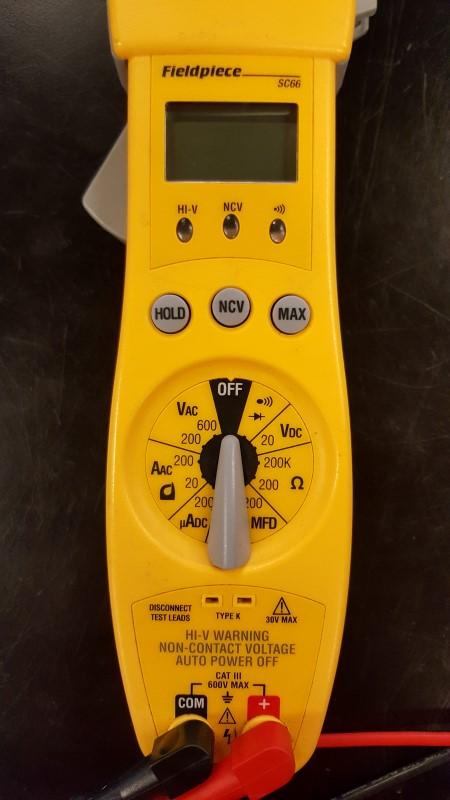 FIELDPIECE Multimeter SC66