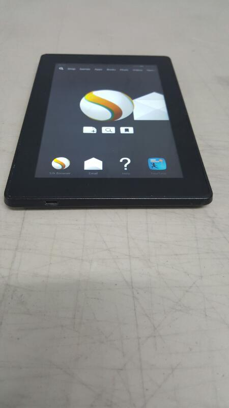 Amazon Kindle Fire HD (3rd Gen) 8GB, Wi-Fi, 7in - Black