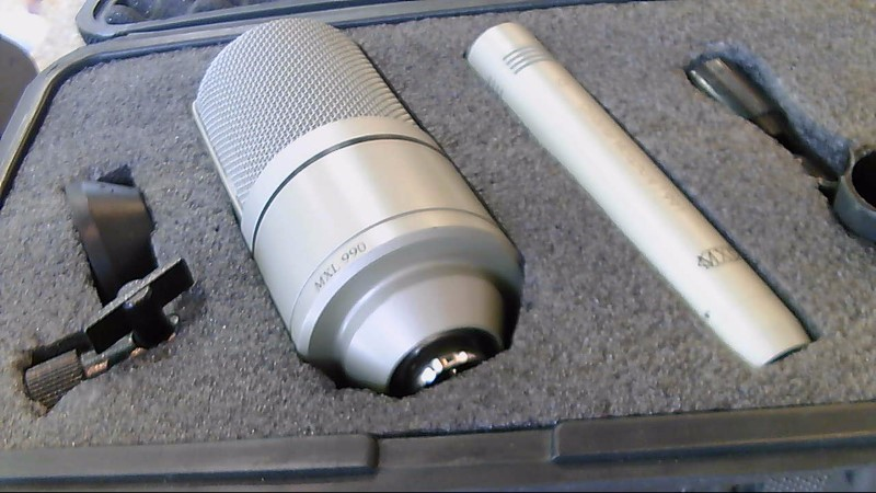 MXL 990/991 Recording Microphone Package Condenser