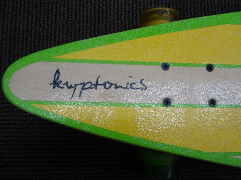 """KRYPTONICS 38"""" PINTAIL COMPLETE LONGBOARD"""