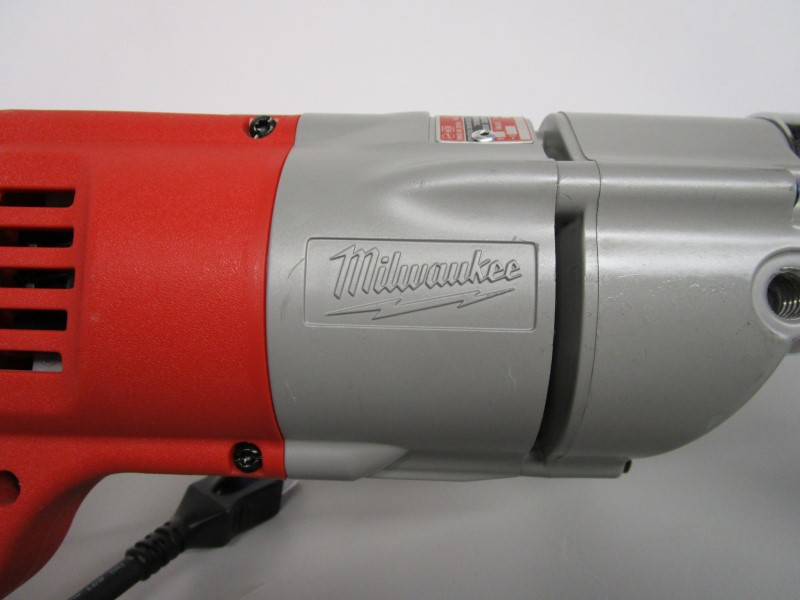 """MILWAUKEE 1107-1 1/2"""" CORDED DRILL, TWO-SPEED RIGHT ANGLE DRIVE"""