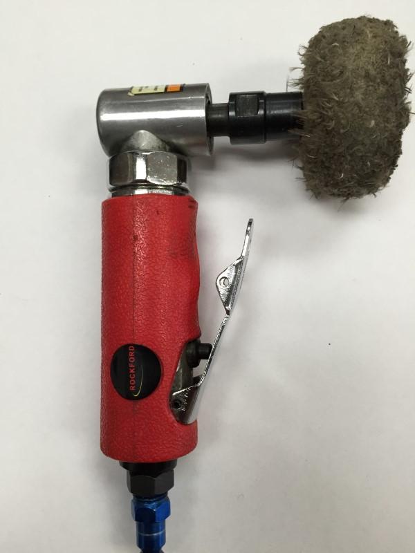 ROCKFORD FOSGATE AIR GRINDER CAN -110 MINI ANGLE DIE GRINDER