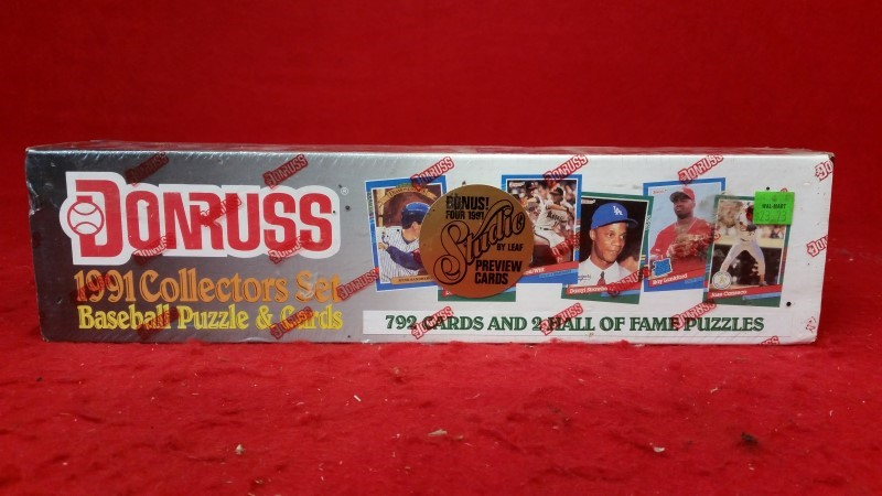 1991 Donruss Collectors Set Baseball Cards - Factory Sealed