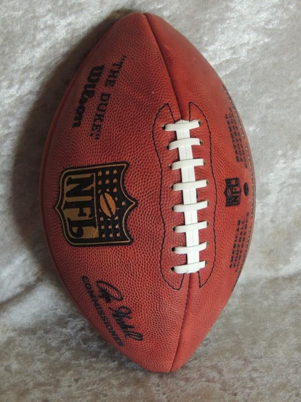 Joe Theismann Redskins Autographed Duke Football SB XVII Champs Inscription