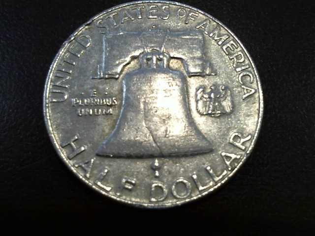 UNITED STATES Silver Coin 1963 FRANKLIN HALF DOLLAR