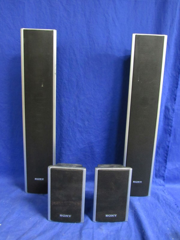 SONY SS-TS80 SURROUND SPEAKERS