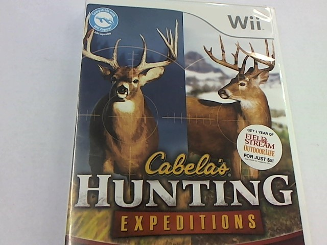 WII - HUNTING EXPEDITIONS