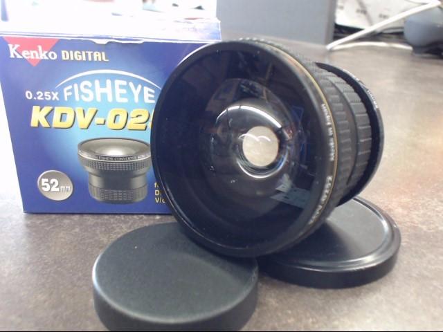 KENKO Lens/Filter KDV-0252 FISHEYE LENS KDV-0252 FISHEYE LENS