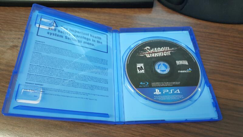 Shadow Warrior (Sony PlayStation 4, 2014) PS4
