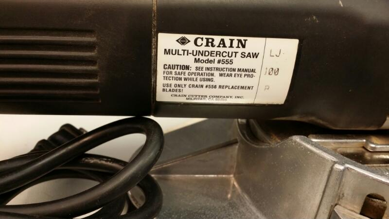 CRAIN  MULTI-UNDERCUT SAW 555]